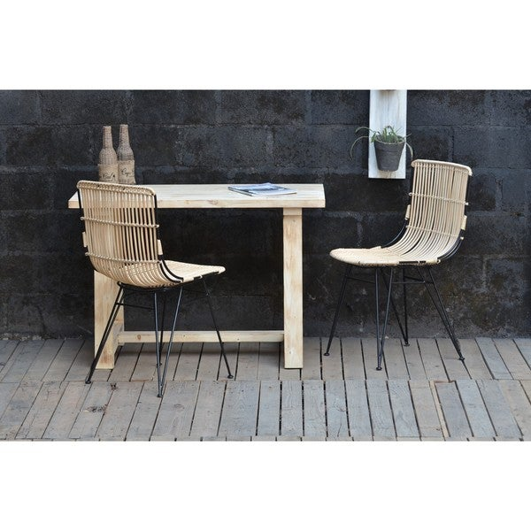 Gemini Rattan Chair Natural