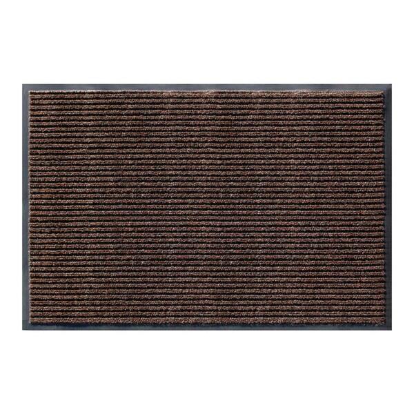Apache Rib Cocoa Brown Casual Door Mat 16458400