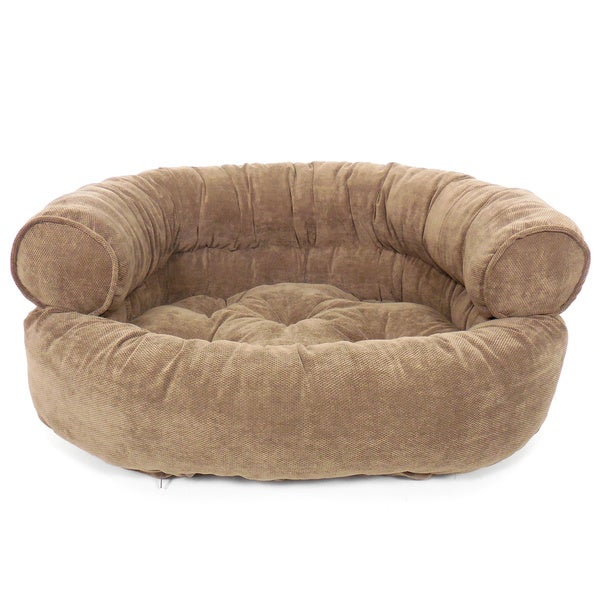 Orthopedic Franklin Textured Comfy Sofa Pet Bed