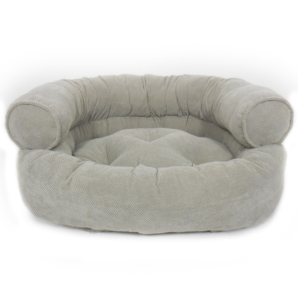 Orthopedic Granby Textured Solid Comfy Sofa Pet Bed