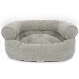 Orthopedic Granby Textured Solid Comfy Sofa Pet Bed