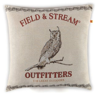 Owl Tapestry Throw Pillow by Field & Stream