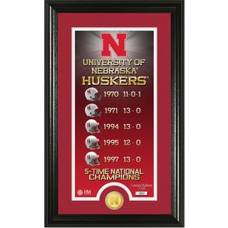 "University of Nebraska ""Legacy"" Bronze Coin Panoramic Photo Mint"