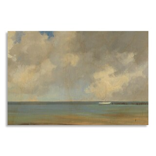 Gallery Direct Print by Kim Coulter 'Solitude' on Birchwood Wall Art