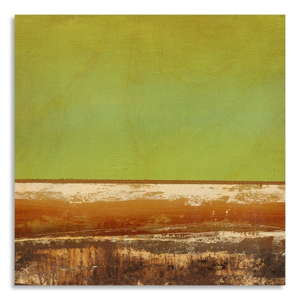 Print by Sean Jacobs 'Rough Terrain I' on Birchwood Wall Art