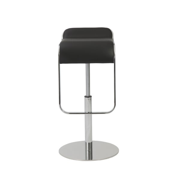 Freddy Black/ Chrome Bar/ Counter Stool