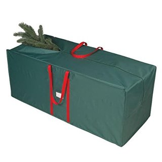Green 48 Inch Tree Bag with Red Handles by Richard Homewares