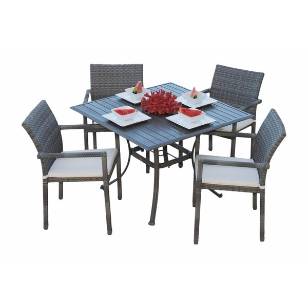 Panama Jack Newport Beach 5-piece Armchair Dining Set