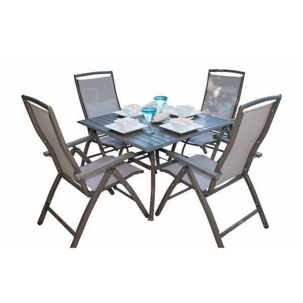Panama Jack Newport Beach 5-piece Multi-Position Dining Set