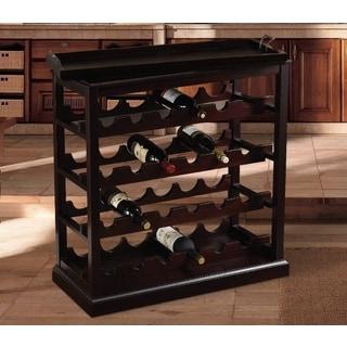 Bombay Outlet Portofino Open Wine Cabinet
