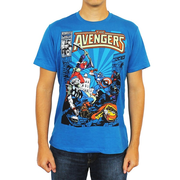 Marvel Men's Classic Avengers T-Shirt
