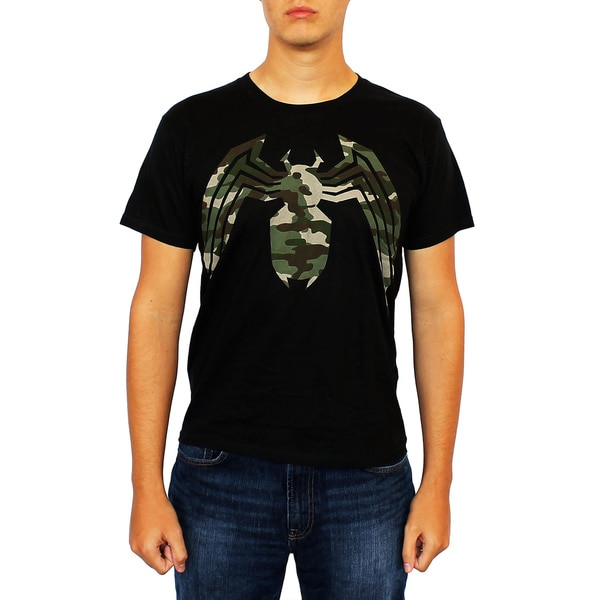 Marvel Men's Camo Venom T-Shirt