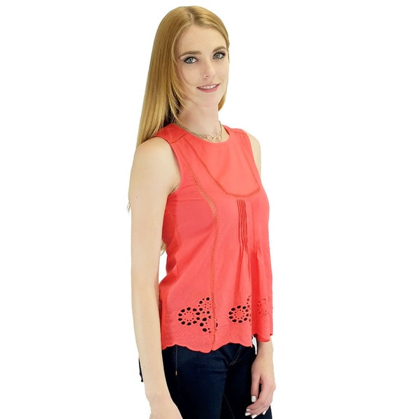 Women's Beatrice Red Tank