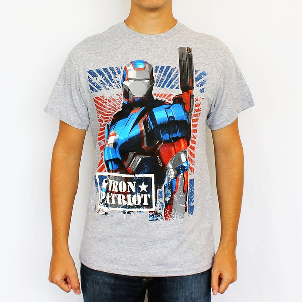 Marvel Men's Iron Patriot T-Shirt