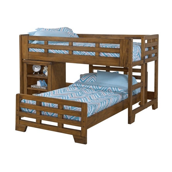 Greyson Living Hardy Low Loft Bed with Caster Bed