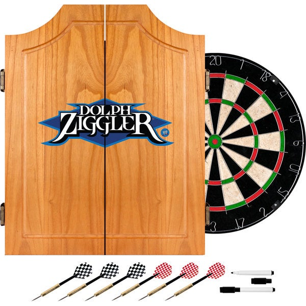 WWE Dolph Ziggler Dart Cabinet Set