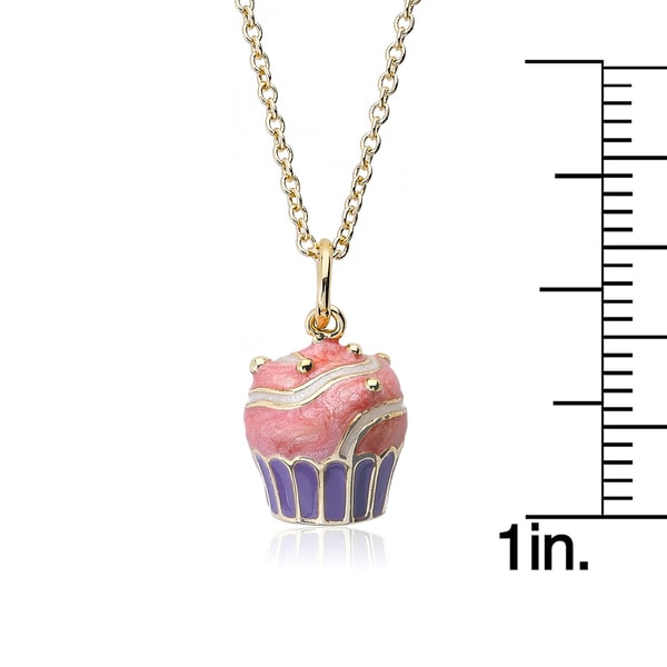 Candyland Pink Donut Necklace