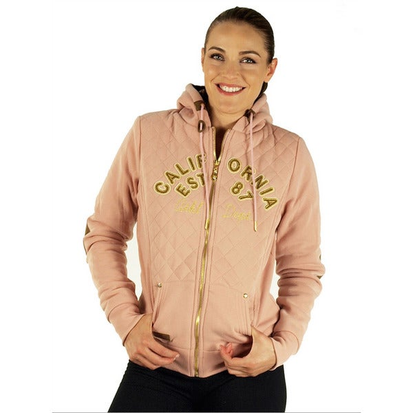 Women's Peach Embroidered California Jacket