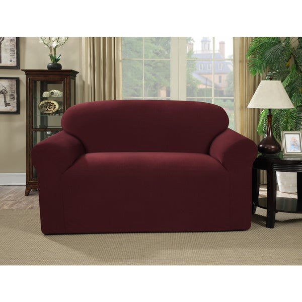 Jersey Knit Love Seat Furniture Cover (As Is Item)