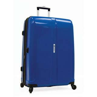 Samboro Shuttle Blue 27-inch Expandable Hardside Spinner Upright Suitcase