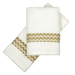 Peri Home Chevron 2-piece Fingertip Towel Set