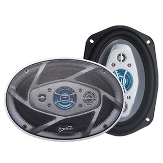 Supersonic SC-6904 Speaker - 1200 W PMPO - 8-way