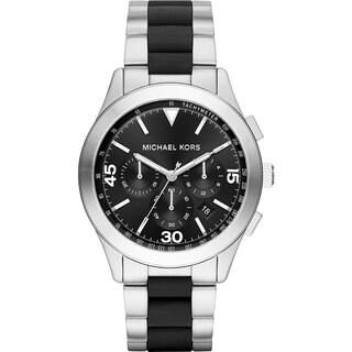 Michael Kors Men's MK8452 Gareth Chronograph Black Dial Two-Tone Bracelet Watch