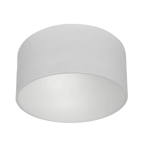 Access Lighting TomTom 1-light White Flush Mount