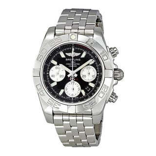 Breitling Chronomat 41 Black Dial Automatic Men's Watch AB014012-BA52