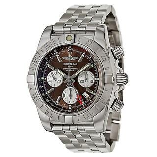 Breitling Men's Chronomat Analog Display Swiss Automatic Silver AB042011/Q589 Watch