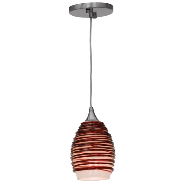 Access Lighting Adele 1-light Pendant, Plum
