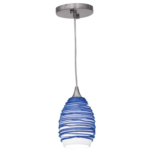 Access Lighting Adele 1-light Pendant, Blue