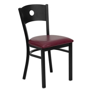Hercules Series Circle Back Restaurant Chair