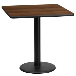 24-inch Laminate Table Top with Base