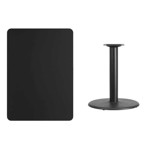 30x42 Rectangular Laminate Table Top with Base