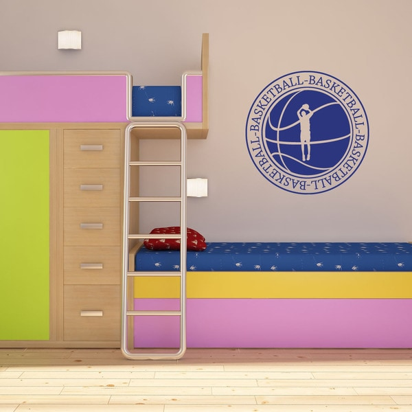 Basketball II Sport Wall Decal