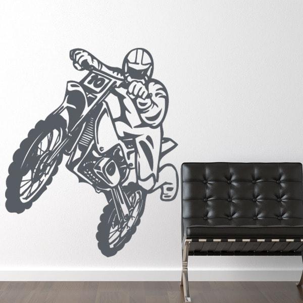 Motocross Sport Wall Decal