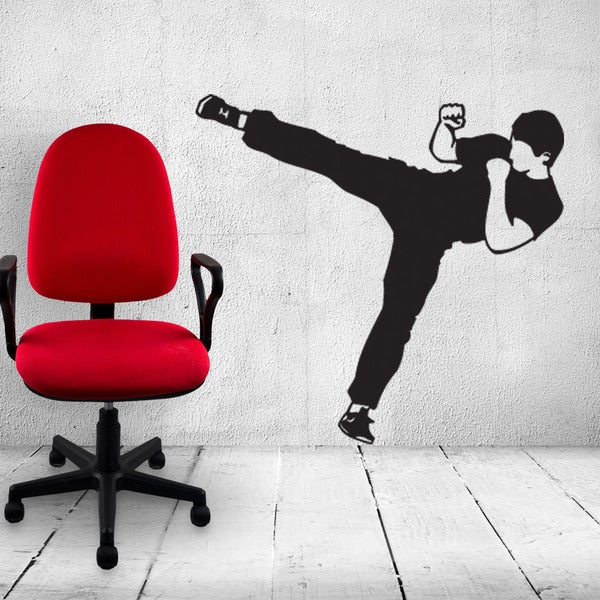 Karate Sport Wall Decal