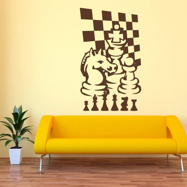 Chess Game Sport Wall Decal