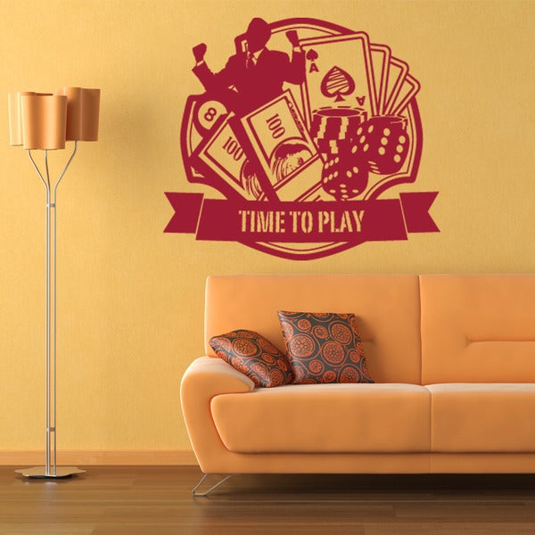 Casino Sport Wall Decal