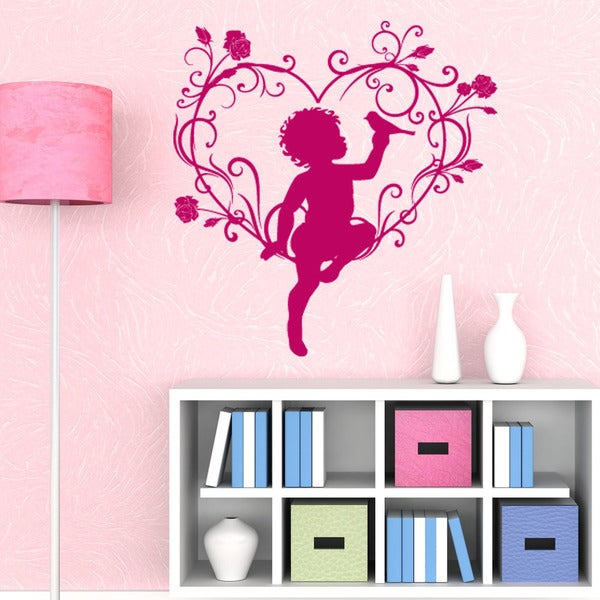 Love Angel Love Wall Decal 16467805