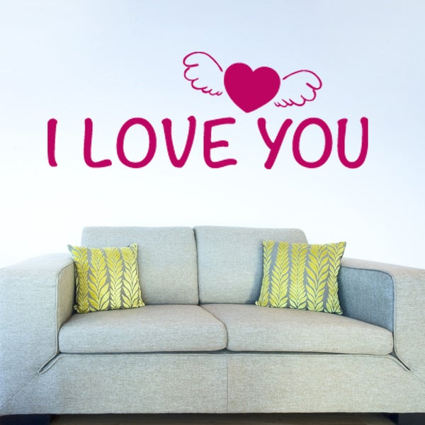 I love You Love Wall Decal