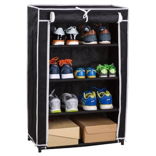 4 Tier Roll-up Shoe Closet