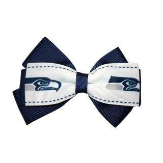 Seattle Seahawks NFL Officially Licensed Hair Bow Clip