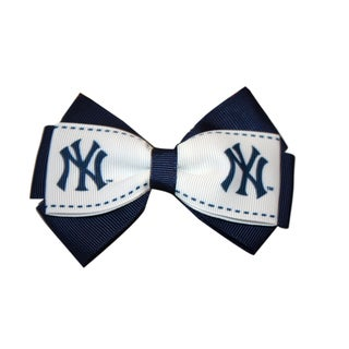New York Yankees MLB Officially Licensed Hair Bow Clip
