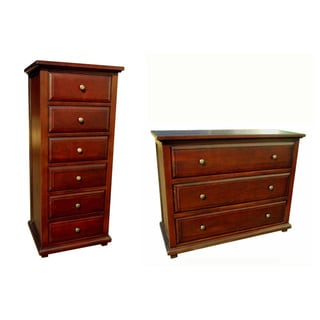 D-Art Java Chest 6 Drawer and Java 3 Drawer Dresser Set (Indonesia)