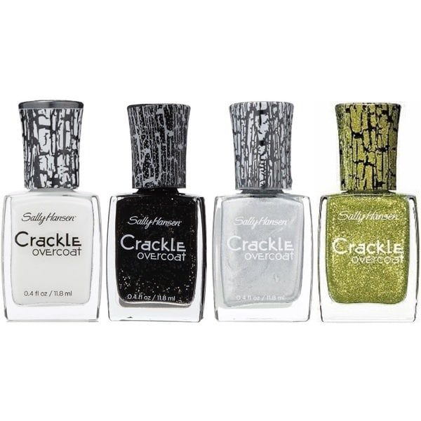 Sally Hansen Crackle 4-piece Nail Polish Set