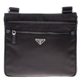 Prada Nylon Bandoleer Messenger Bag