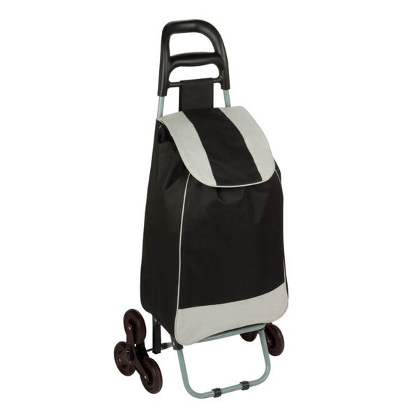 bag cart with tri-wheels, black
