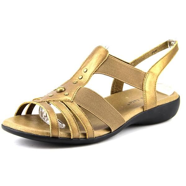 David Tate Women's 'Venus' Leather Sandals